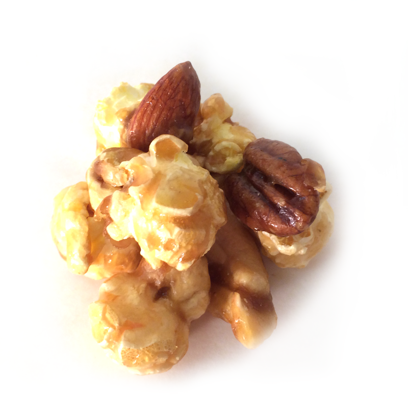 Caramel Nut Supreme (pecans, almonds, cashews)