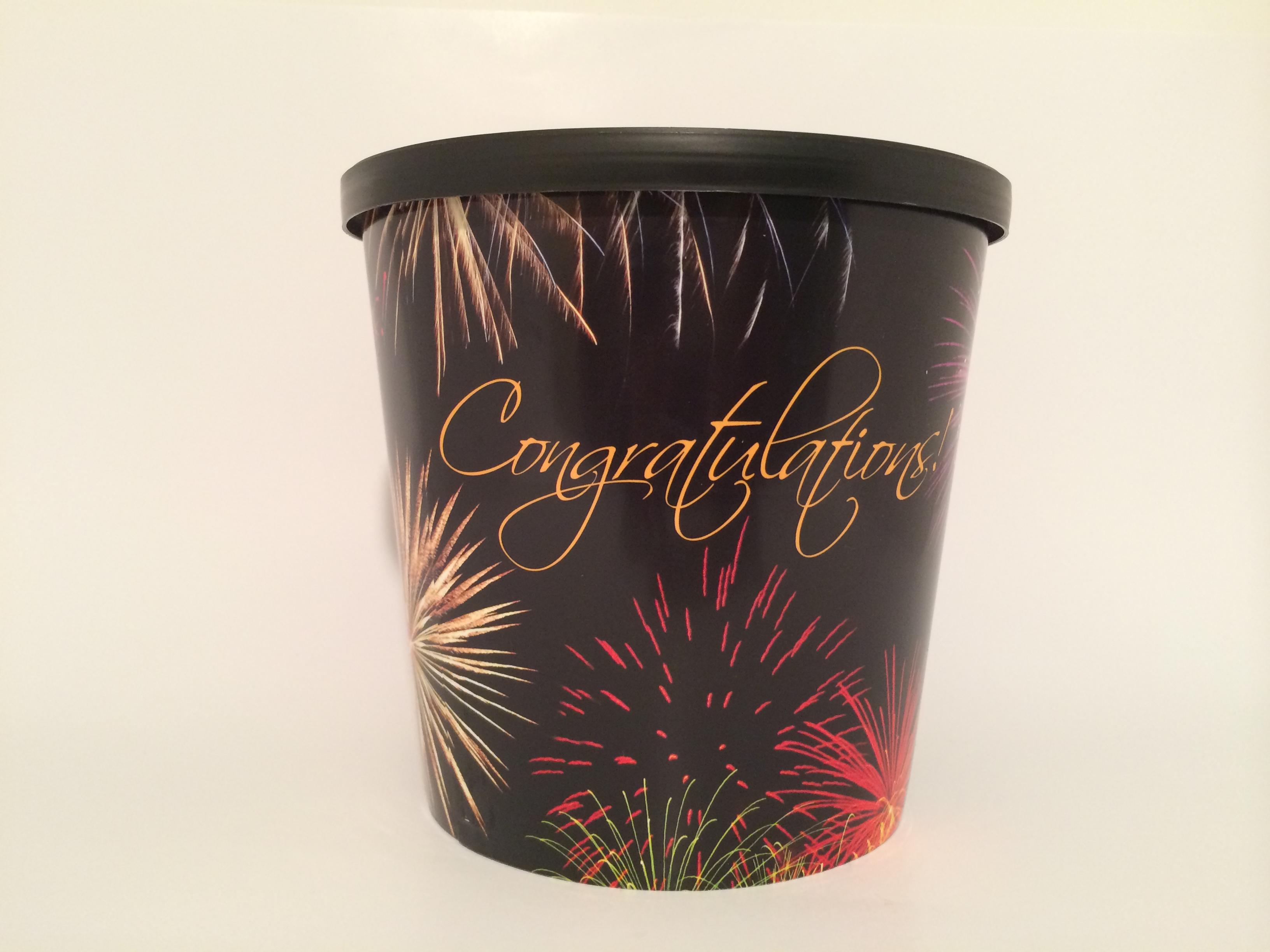 Congratulations Bucket
