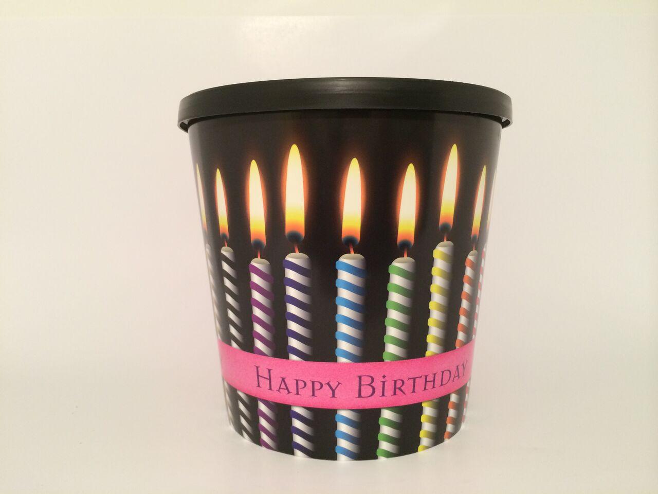 Birthday Candle Bucket